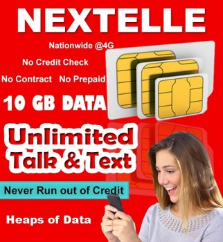 UNLIMITED NEXTELLE MOBILE PLAN 10GB Data