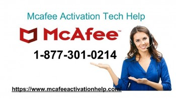 Take Benefit of Mcafee Tech Support At +1-8773010214 For USA