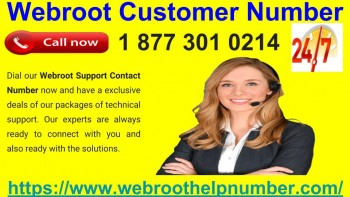 Webroot Customer Number 877-301-0214