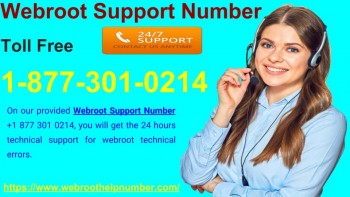 Webroot Support Number 877-301-0214