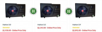 Standard Quality Habitat 115 - $2,880.00
