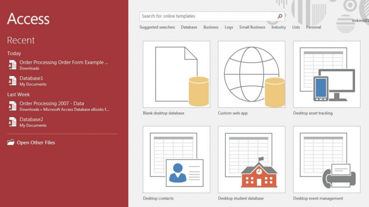 MICROSOFT ACCESS TRAINING: BUILDING ACCE