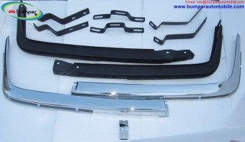 Mercedes W107 Chrome bumper type Euro