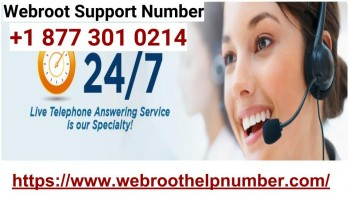 Webroot Support Number +1 877 301 0214