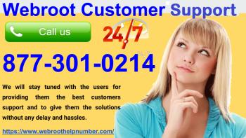 Best Webroot Customer Support 8773010214