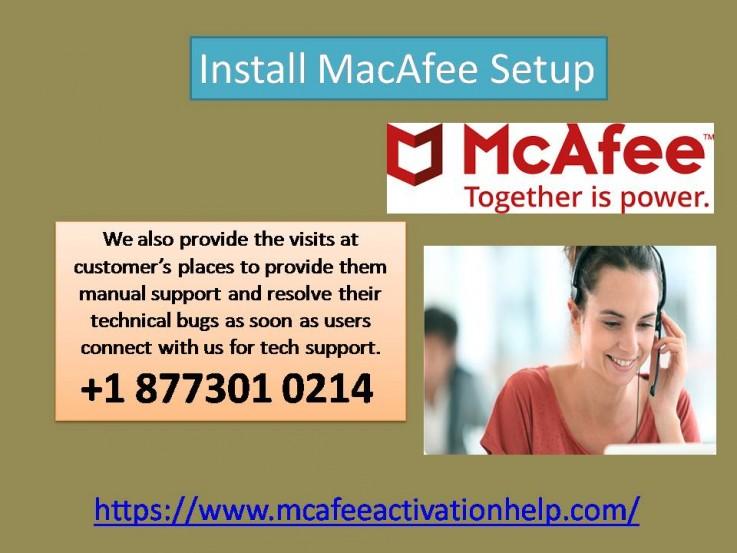 Install Mcafee i ...