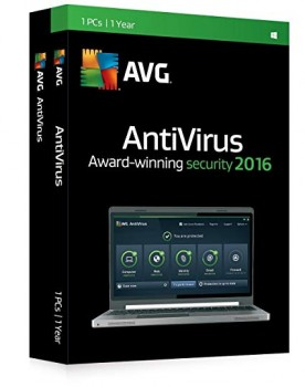 AVG Internet Security 3 PC, 1 Year Subscription