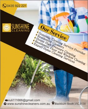 Residential Cleaners Blackburn South | Sunshine Cleaning
