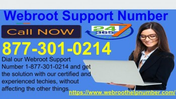 Webroot Support Number 877 301 0214