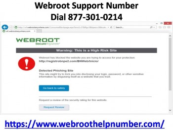 Webroot Support Your PC 877-301-0214