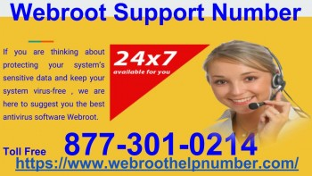 Webroot Support Through 877-301-0214