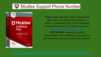 Use McAfee Support Phone Number +18773010214 To Install McAfee Setup