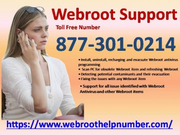 Webroot Support Toll Free 877-301-0214