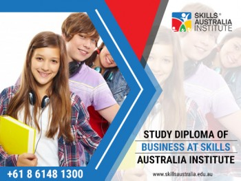 Skills Australia Institute for Best Diploma in Business Administration Course in Perth