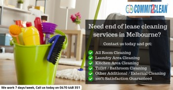 Commit2clean   End of lease cleaning Mel