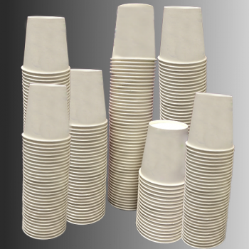 Paper Cups (1000 Disposable Cups) 170ml