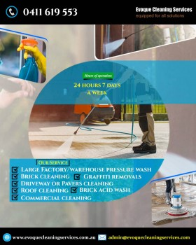 Professional Brick Cleaning Service Point Cook | Evoque Cleaning Services