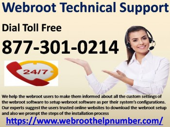877-301-0214 Webroot Technical Support