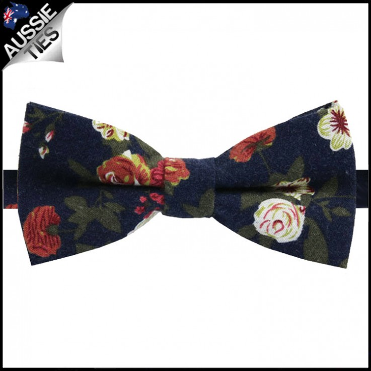 Blue Bowties Can Also Give a Head-Turnin