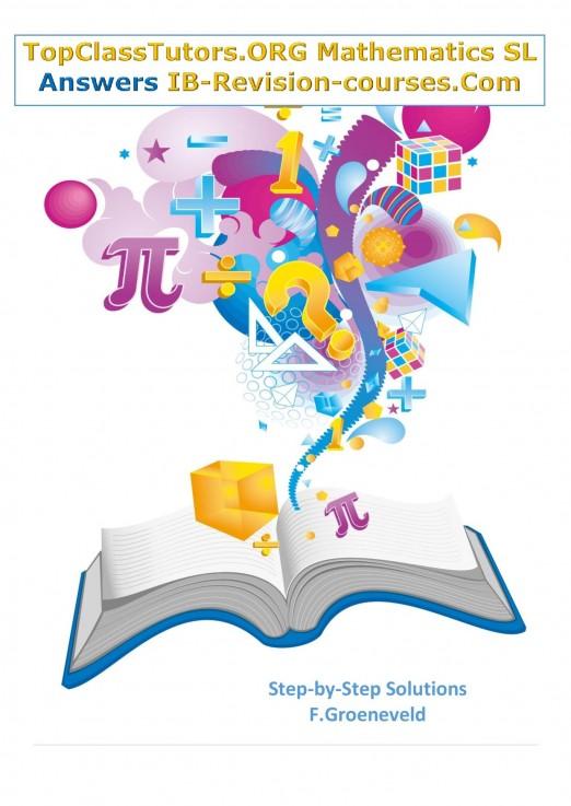 IB Math SL Answers: step-by-step solutio