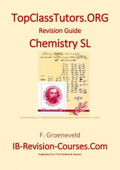IB Chemistry SL Revision guide 978-90-82