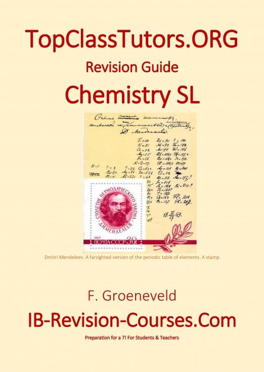 IB Chemistry SL Revision guide 978-90-82