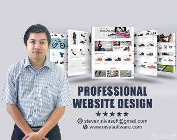 Develop A Modern Website,E Commerce Webs