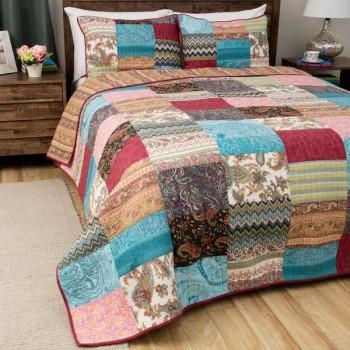 King Size Kantha Quilt Bedspread