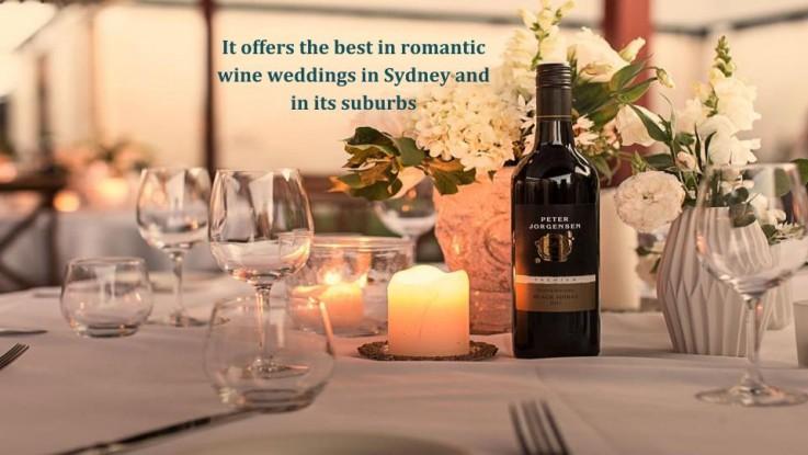 Wine Wedding Venues in Hunter Valley