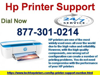 Support For Hp Printer 877-301-2014