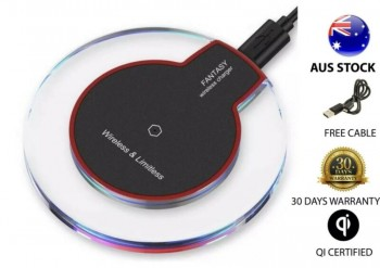 New Fast Chargers QI Wireless Charger Pa