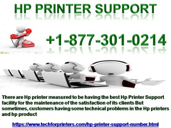 Dial Now +1-877-301-0214 For Hp Printer
