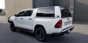 Robust & Hand Molded Toyota Hilux Canopy