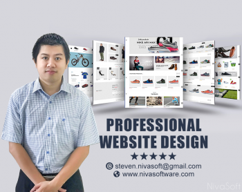 Develop A Modern Website,E Commerce Webs