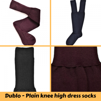Dublo Original - Plain knee high dress s