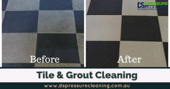 Get Best Tile And Grout Cleaning Services | DSPressureCleaning