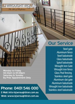 Buy Steel balustrade and Other component