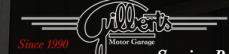 Gilbert's Motor  ...