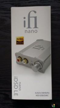 iFi Nano iDSD LE DAC/Headphone amp