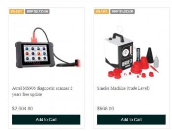 Automotive Scan Tools | Automotive Equip