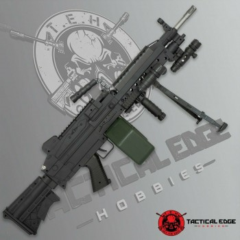 Buy New M249 Saw Toy Gelsoft Blaster