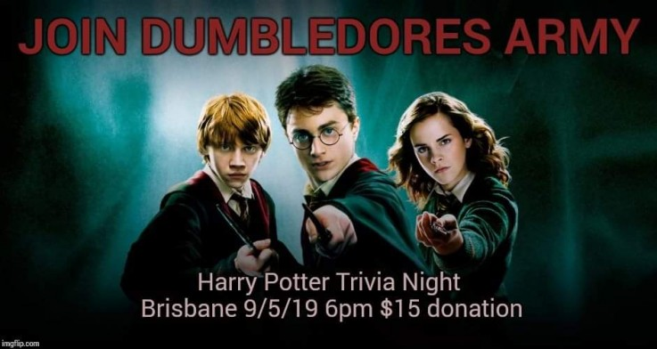Harry potter magical trivia night