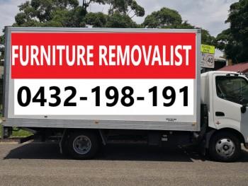 $60/ph Sydney Furniture Removals