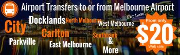 Melbourne airport transfers service