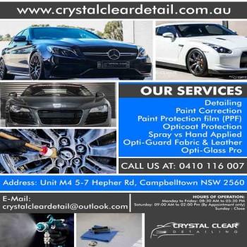 Car Detailer Campbelltown | Crystal Clea