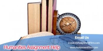 Humanities Assignment Help