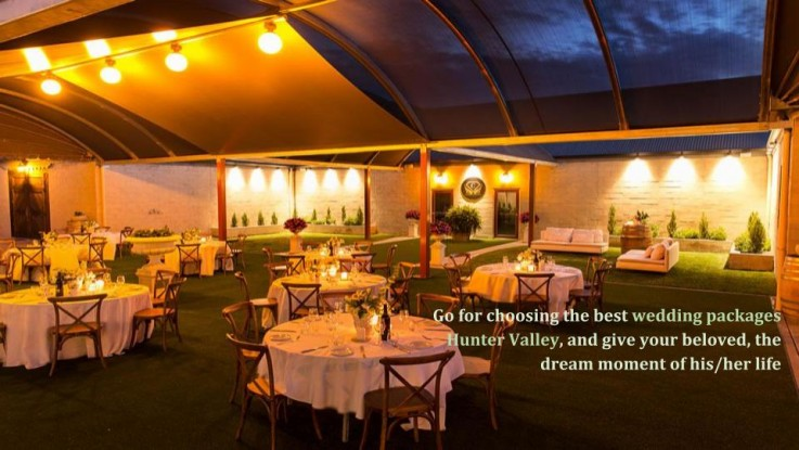 Luxurious Wedding Packages in Hunter Valley