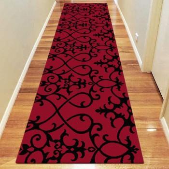 Best Quality Red Hallway Runner Rug