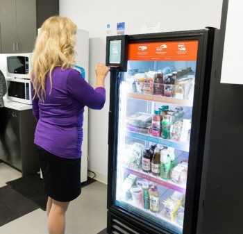 Touch Screen Vending Machine - the New Age Vending Machine