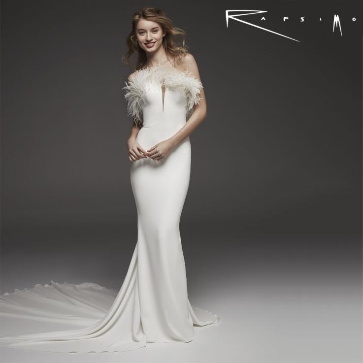 Mermaid Wedding Dress with Off-Shoulder